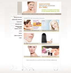 NEW DESERT Realizacje - Artderma Medical SPA